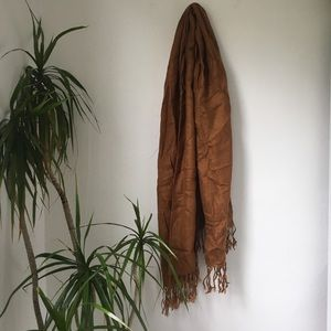 GAp Camel Knit Scarf